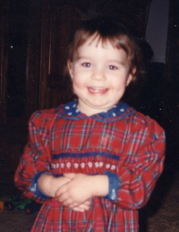 Lainey Dostal at age 4